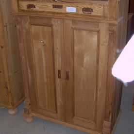commode hout lak
