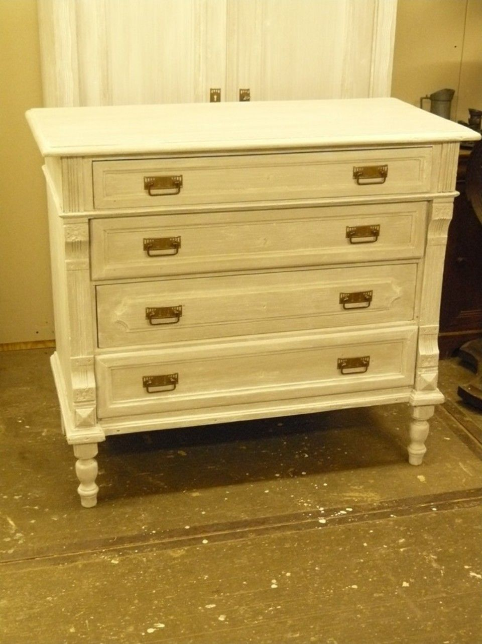 brocante commode met lades