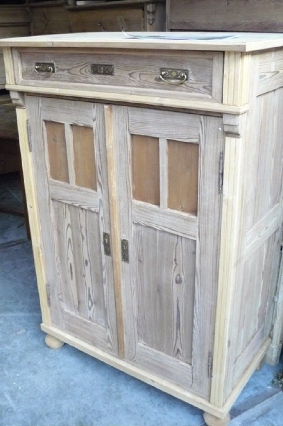 commode hout whitewash