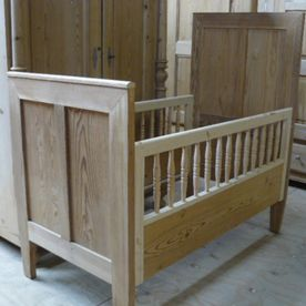 Hout bed